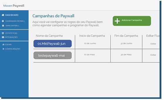 Paywall e Skin de Paywall