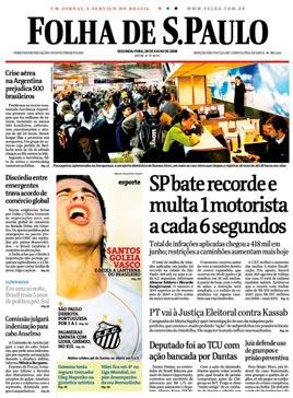 Publicação Digital da Folha de São Paulo