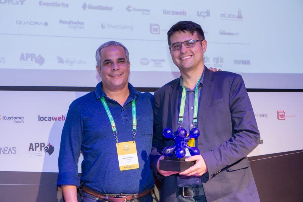 Marison Souza Maven & TruBR recebe premio no 3º Prêmio ABRADI: Profissional Digital