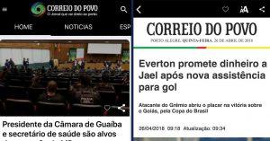 Novo aplicativo do Correio do Povo conta com Leitor de Notícias
