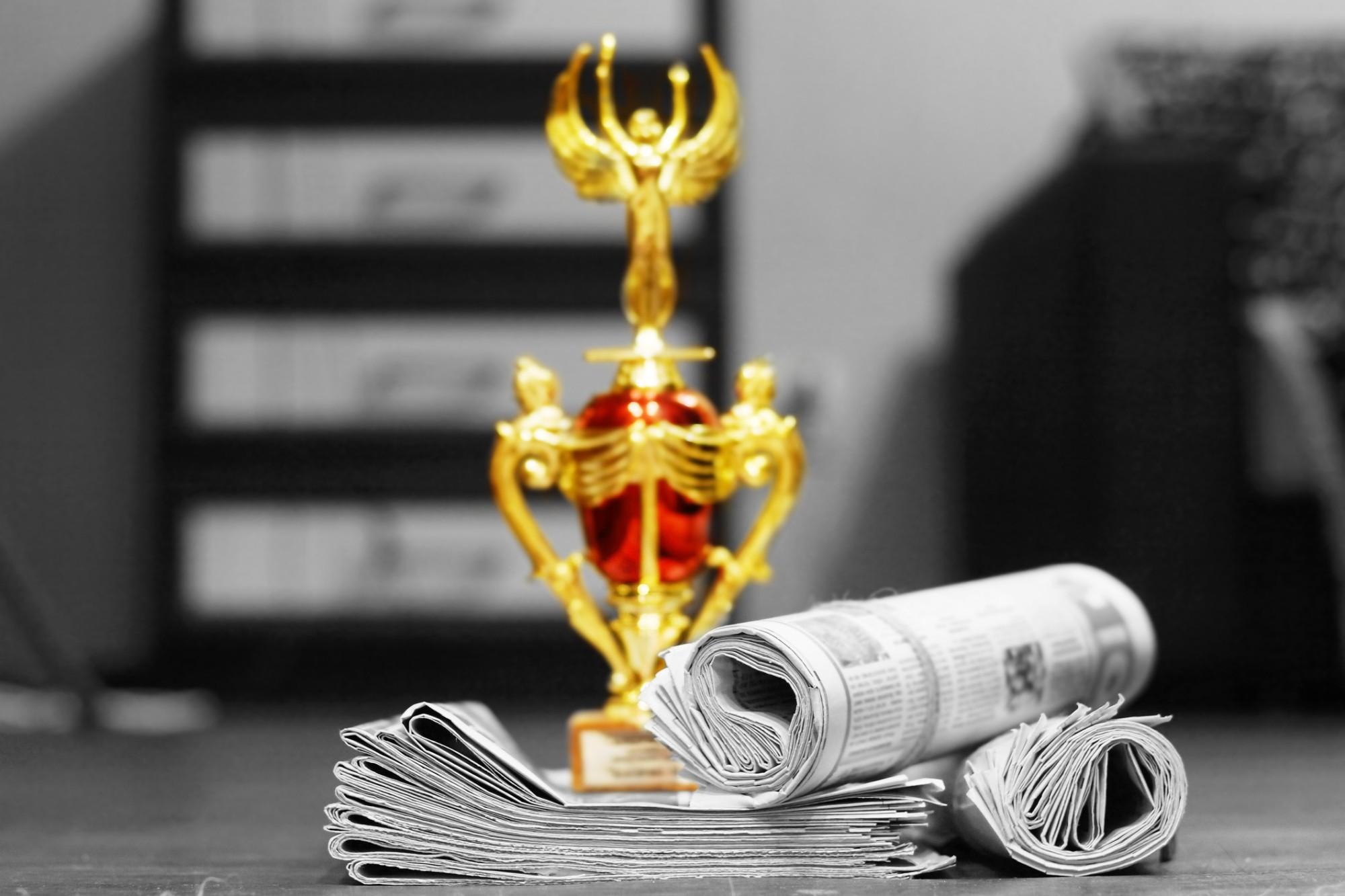 Conheça os principais prêmios de jornalismo no Brasil