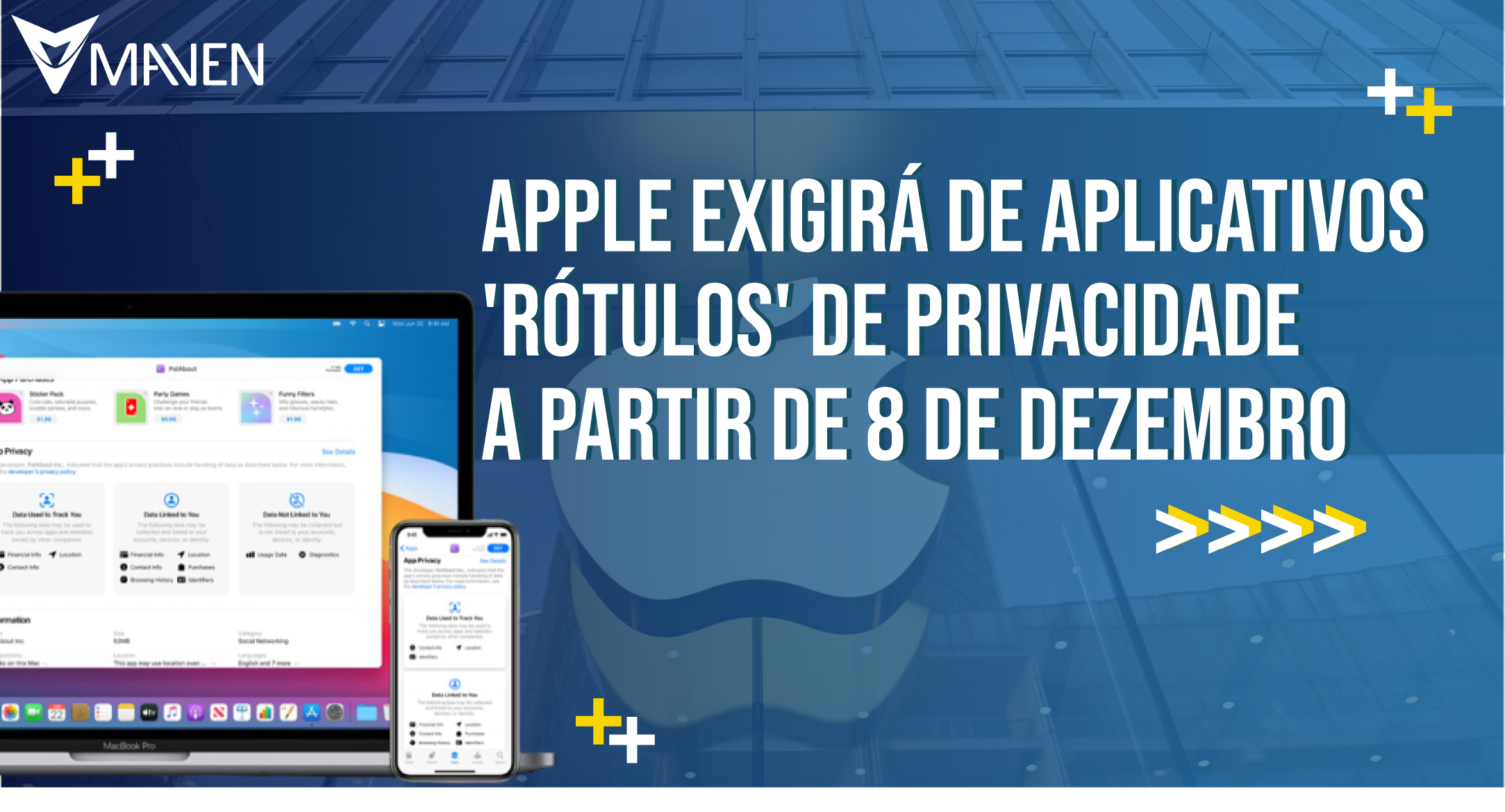 Apple exigirá de aplicativos 'rótulos' de privacidade a partir de 8 de dezembro